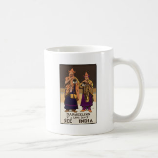 Darjeeling At a lama dance Classic White Coffee Mug