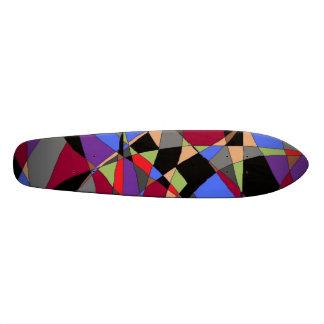 Dark abstract 2 skateboard decks