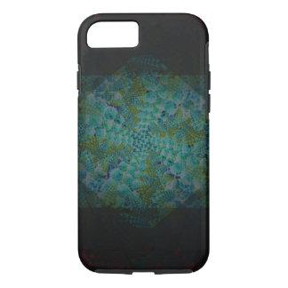Dark Abstract Fractal Digital Art iPhone 7 Case