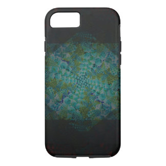 Dark Abstract Fractal Digital Art iPhone 8/7 Case