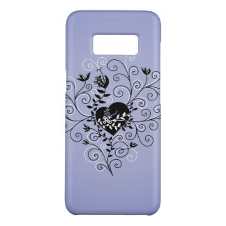 Dark Abstract Whimsical Fixed Broken Heart Case-Mate Samsung Galaxy S8 Case
