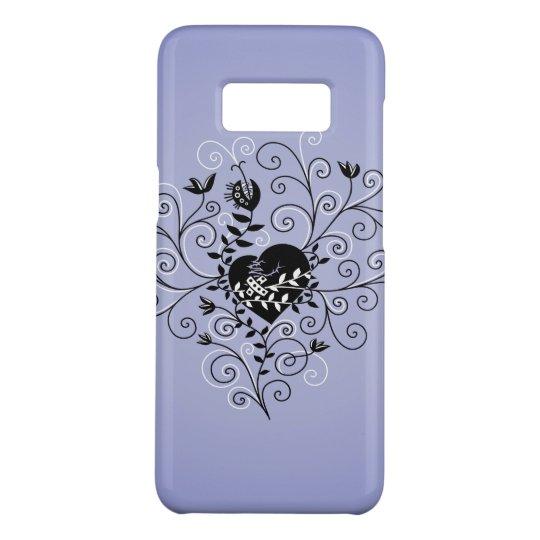 Dark Abstract Whimsical Fixed Broken Heart Case-Mate Samsung Galaxy S8 Case