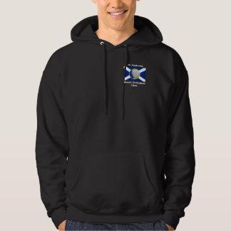 Dark adult hoodie with StABVC logo