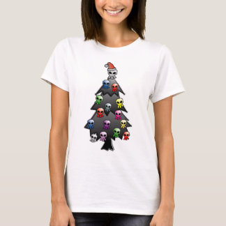 Dark and Gothic Holiday Greeting T-Shirt