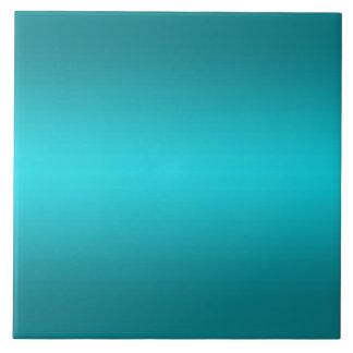 Dark and Light Aqua Blue Gradient - Turquoise Tile