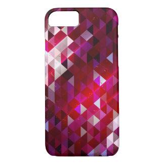 Dark and Light Polygon Pattern iPhone 8/7 Case