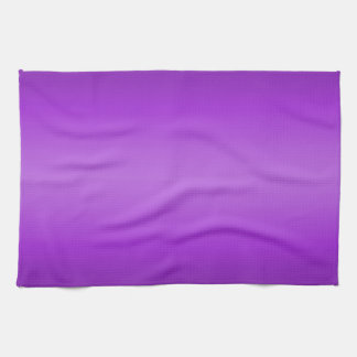 Dark and Light Purple Gradient - Violet Template Kitchen Towel