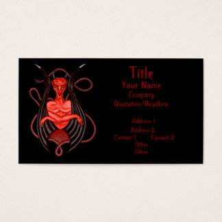 Dark Angel Business Card