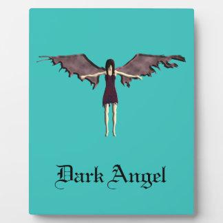 dark angel plaque
