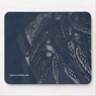 Dark Angel Wings Gothic Glam Personalized Mouse Pad