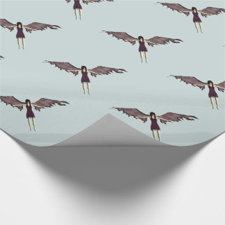 dark angel wrapping paper