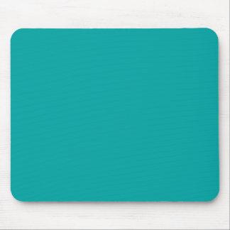 Dark Aquafresh Blue Aqua Fresh Green Color Trend Mouse Pad