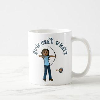 Dark Archery in Blue Coffee Mug