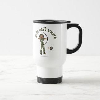 Dark Archery in Camouflage Mug