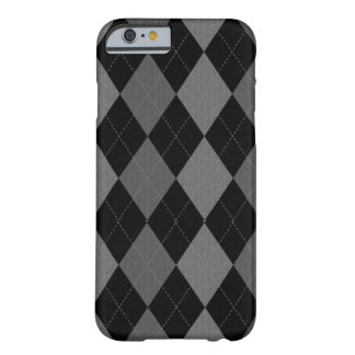 Dark Argyle Barely There iPhone 6 Case