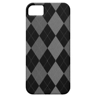 Dark Argyle iPhone 5 Case