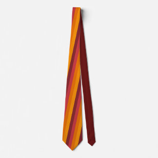 Dark Autumn Stripe Tie
