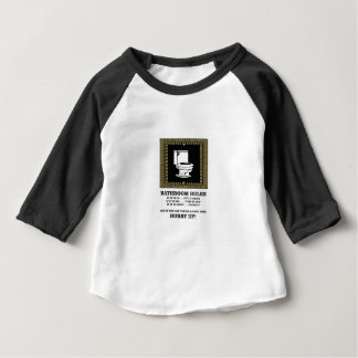 dark bathroom rules baby T-Shirt