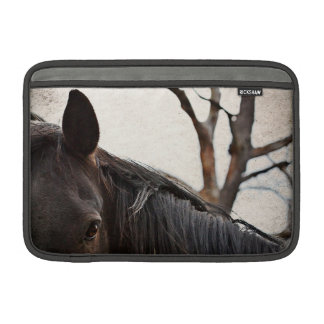 Dark Bay Horse Animals MacBook Air Sleeve 11""