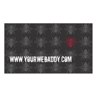 Dark Bees Bizcard Pack Of Standard Business Cards