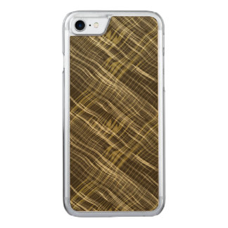 Dark Beige Pattern Carved iPhone 8/7 Case