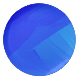 Dark Blue Backdrop Plate