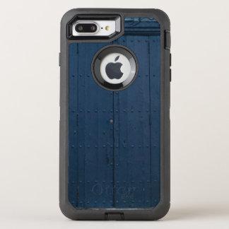 Dark Blue Boathouse Door Costa Brava Spain OtterBox Defender iPhone 7 Plus Case