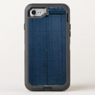 Dark Blue Boathouse Door Costa Brava Spain OtterBox Defender iPhone 8/7 Case