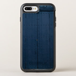 Dark Blue Boathouse Door Costa Brava Spain OtterBox Symmetry iPhone 8 Plus/7 Plus Case