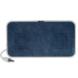 Dark Blue Brushed Background Mp3 Speaker