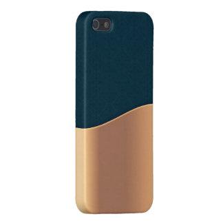 Dark Blue Copper iPhone 5/5S Cases