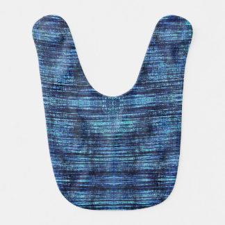 Dark Blue Denim Pattern Bib