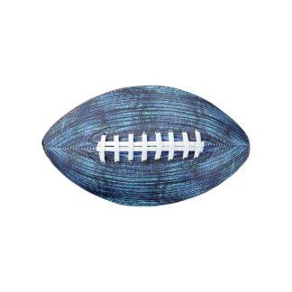 Dark Blue Denim Pattern Football