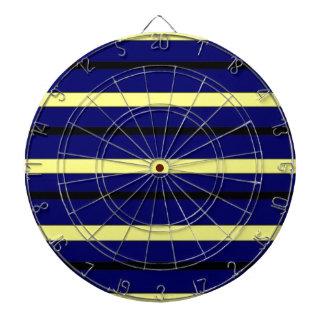 Dark Blue Derby Stripe Dartboard