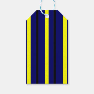 Dark Blue Derby Stripe Gift Tags