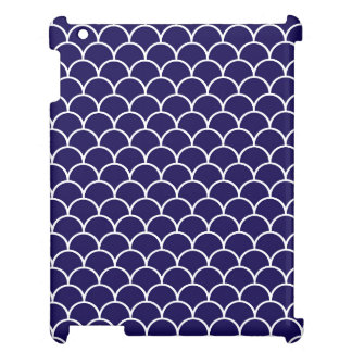 Dark Blue Dragon Scales Case For The iPad 2 3 4