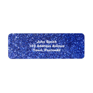Dark blue faux glitter graphic