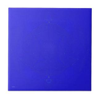 Dark Blue fractal tile Piece 5 of 6