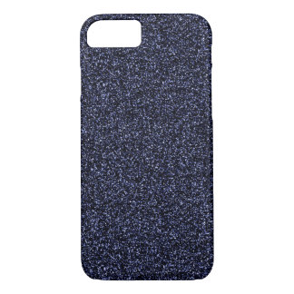 Dark blue glitter iPhone 8/7 case