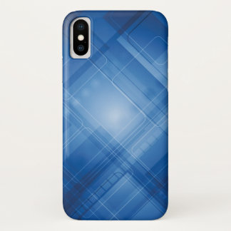 Dark blue hi-tech background Case-Mate iPhone case