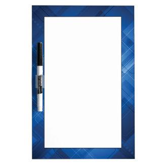 Dark blue hi-tech background Dry-Erase whiteboard