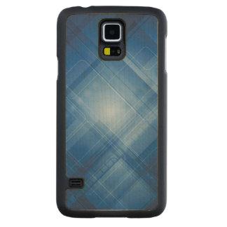 Dark blue hi-tech background maple galaxy s5 case