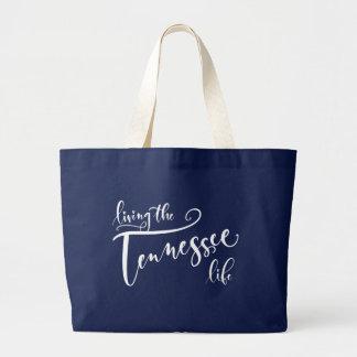 Dark Blue Jumbo Tote Bag