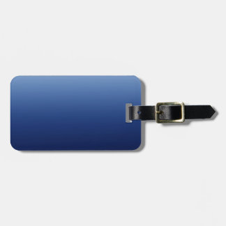 Dark Blue Luggage Tag