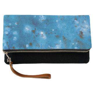 Dark Blue Marble Splat Clutch