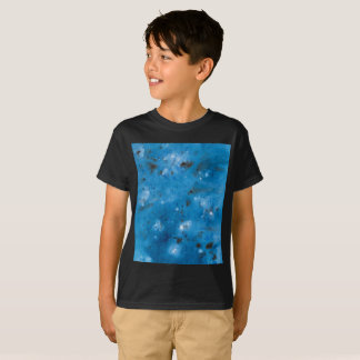 Dark Blue Marble Splat T-Shirt