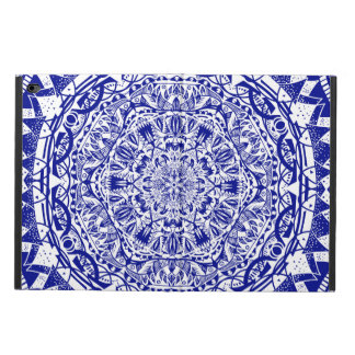 Dark Blue Mehndi Mandala Powis iPad Air 2 Case