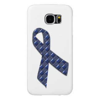 Dark Blue Metallic Samsung Galaxy S6 Cases