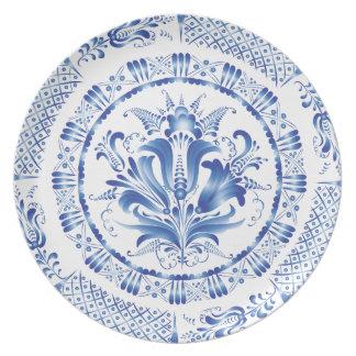 Dark Blue Party Plates