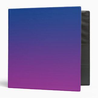 Dark Blue & Purple Ombre Binders